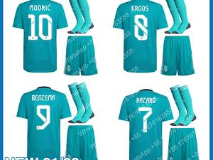 21-22 Top Quality Shirt MARCELO New Home Away 2021 2022 Real MadridES Shirt Children BENZEMA MODRIC HAZARD Aldult Set