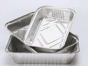 Different Size Baking Microwave Aluminium Foil Container for Baking