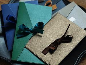 10pcs/lot Vintage Iridescent Paper Envelopes for Letters Mailers Set Kraft Letter Envelope for Wedding Invitation Gift Postcards